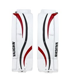 "Goalie pads VAUGHN GP VENTUS LT80 white/black/red senior - 30+2"" - Schienen"