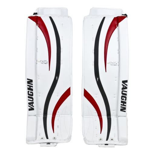 Goalie pads VAUGHN GP VENTUS LT80 white/black/red senior - 30+2