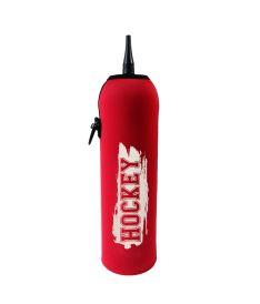 TERMOCASE for 1,0L bottle HOCKEY CRASH (132) - red