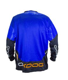 OXDOG GATE GOALIE SHIRT blue XS (padding) - Pullover