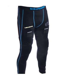 VAUGHN VELOCITY V9 GOALIE PADDED COMPRESSION HOSE black senior