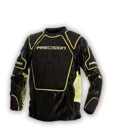 PRECISION GOALIE JERSEY #1 black/yellow senior XL
