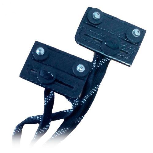 VAUGHN SLIDING TOE BAR XR black - pair - Accessories
