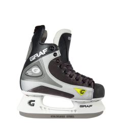GRAF SKATES SUPER 101 black/silver - 29** - Skates