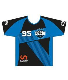 FREEZ JERSEY SUBLI - DDM Děčín MAN - black-blue