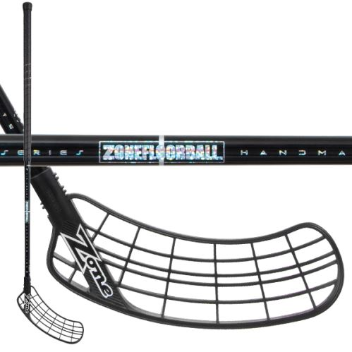 ZONE STICK SUPREME AIR SL 28 black/hologram - Floorball stick for adults