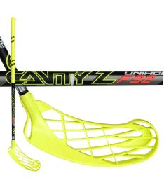 UNIHOC STICK CAVITY Z 32 neon yellow/black 92cm R-17 - Floorball sticks