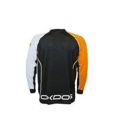 OXDOG TOUR GOALIE SHIRT BLACK/OR, no padding 150/160 - Pullover