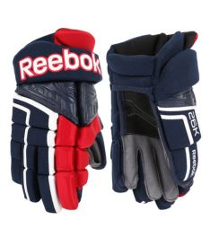 Hokejové rukavice REEBOK 26K navy/red/white senior - 14""