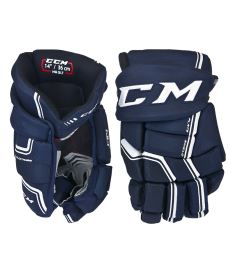 Hokejové rukavice CCM QUICKLITE navy/white senior - 14""