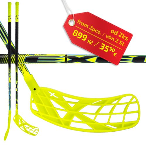 EXEL F50x 2.9 black 98 ROUND SB L - Floorball stick for adults