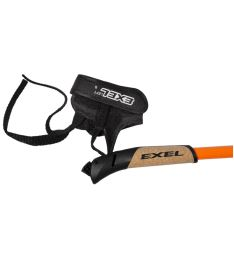 EXEL NORDIC PRO CURVE orange/black/white 115cm - Stöcke