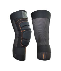 UNIHOC Goalie Shinguard FLOW black pair