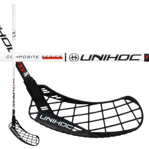 UNIHOC STICK EPIC Composite 32 white/black
