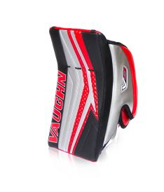 VAUGHN BLOCKER VELOCITY V9 EXE PRO CARBON black/silver/red senior - REG