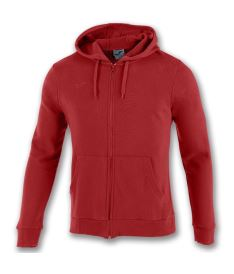 JOMA SWEATSHIRT ZIPPER ARGOS II RED