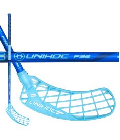 UNIHOC STICK EPIC 32 blue 92cm R-17