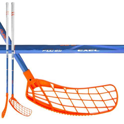 EXEL P100 BLUE 2.6 98 ROUND MB - Floorball-Schläger für Erwachsene