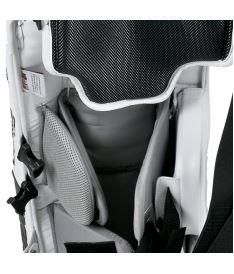 "Goalie pads VAUGHN GP VENTUS LT68 white junior - 24+2"" - Schienen"