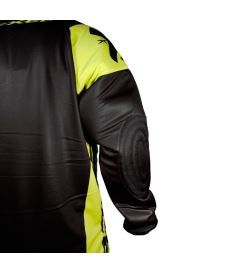 EXEL G2 GOALIE PROTECTION JERSEY black/yellow - Pads and vests