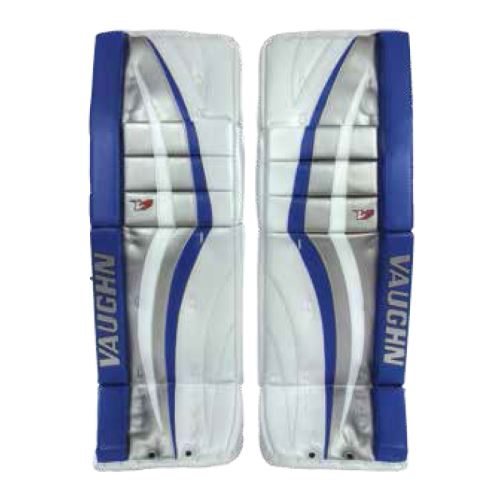 "Goalie pads VAUGHN GP VELOCITY V7 CARBON PRO ELITE white senior - 33+2"" - Schienen"