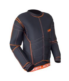 EXEL S100 PROTECTION SHIRT black/orange XS - Pads and vests