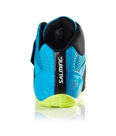 SALMING Slide 5 Goalie Shoe Cyan/Black 48 EUR - Schuhe