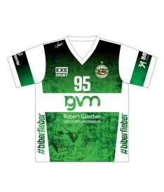 FREEZ JERSEY SUBLI MAN/KID - USV HALLE - green/white