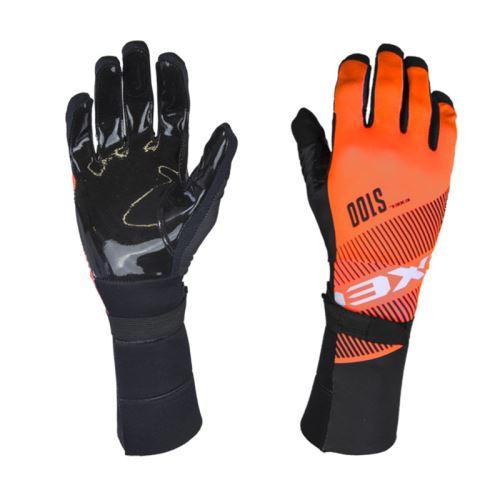 EXEL S100 GOALIE GLOVES LONG orange/black 8/M - Gloves