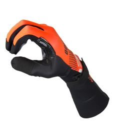 EXEL S100 GOALIE GLOVES LONG orange/black 9/L - Gloves