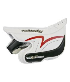 Goalie Stockhand VAUGHN BLOCKER V ELITE PRO white/black/red senior - Stockhände