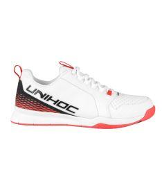 UNIHOC SHOE U4 PLUS LowCut Men wh/red - Shoes