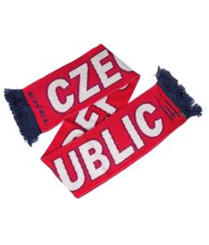 EXEL CZECH REP. SCARF RED