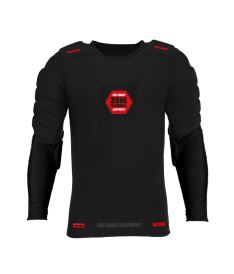 ZONE GOALIE T-SHIRT PRO longsleeve black/red XL/XXL