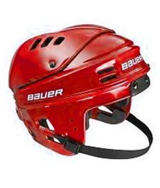 BAUER HELMET 1500 red