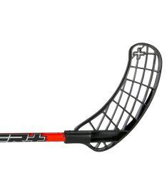 UNIHOC STICK PLAYER+ 26 red/black 100cm - Floorball-Schläger für Erwachsene
