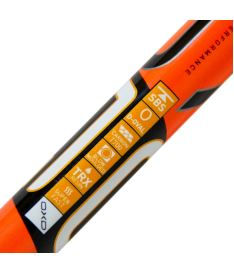OXDOG FUSION 27 neon orange 101 OVAL  '15 - Floorball stick for adults