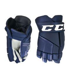 Hokejové rukavice CCM 24K navy senior