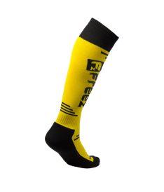 FREEZ QUEEN LONG SOCKS YELLOW - Stutzen und Socken
