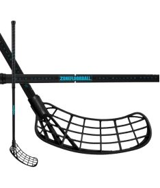 ZONE STICK MAKER AIR 29 black/turquoise 96cm