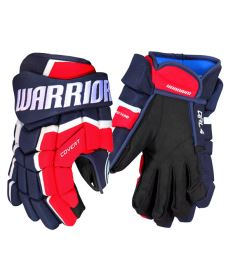 Hokejové rukavice WARRIOR COVERT QRL4 navy/red/white senior - 14""