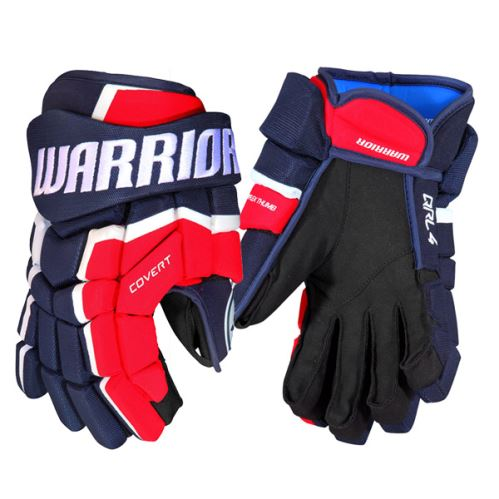 Hokejové rukavice WARRIOR COVERT QRL4 navy/red/white senior - 14
