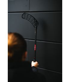 ZONE Stick MAKER Air SL 27 black/red 96cm R-19 - Floorball-Schläger für Erwachsene