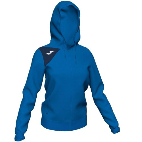 JOMA HOODED JACKET SPIKE II WOMAN ROYAL-DARK NAVY 4XS-3XS - Mikiny