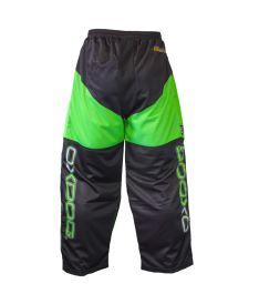 OXDOG VAPOR GOALIE PANTS black/green 110/120 - Kalhoty