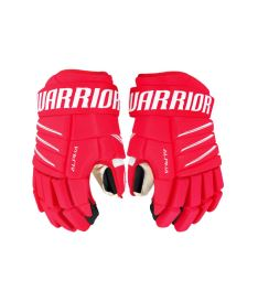 Hokejové rukavice WARRIOR ALPHA QX5 red/white senior