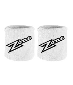 ZONE WRISTBAND OLD SCHOOL white/black 2-pack