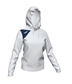 JOMA HOODED JACKET SPIKE II WOMAN WHITE-DARK NAVY