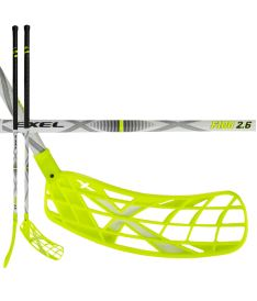 EXEL F100 WHITE 2.6 103 ROUND SB - Floorball stick for adults