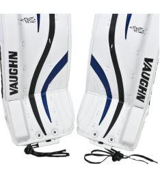 "Goalie pads VAUGHN GP VENTUS LT80 white/black/blue senior - 32+2"" - Pads"
